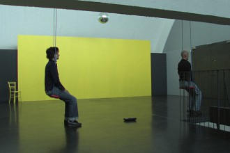 Reality always exists Installation / Performance<br>
